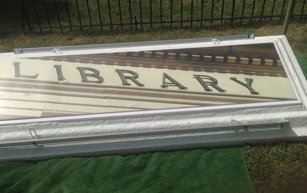 Love to read  Is the library your favorite place  This has been used to honor someone who loved the library.