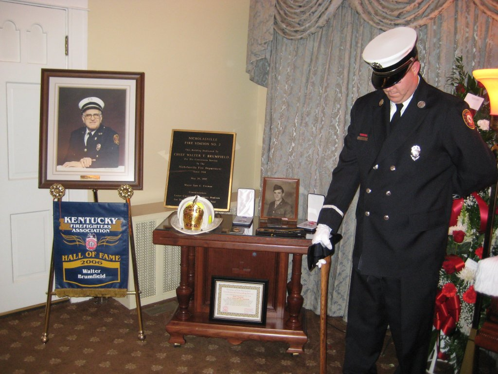 Honoring a beloved retired fire chief