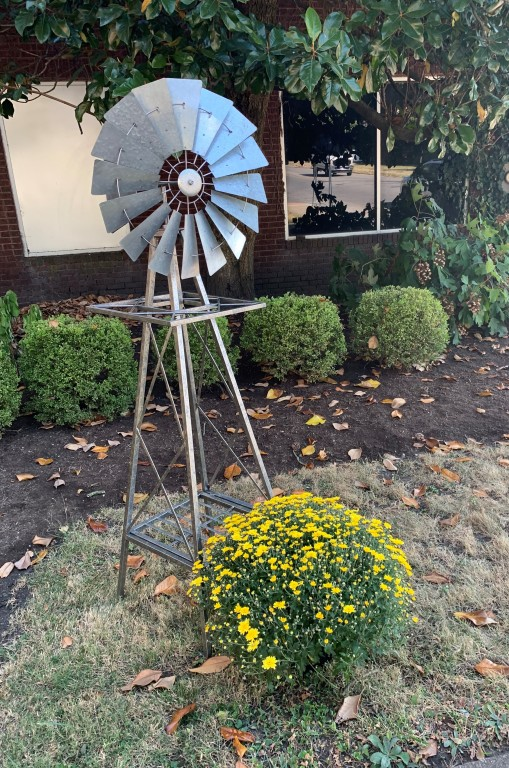 Honoring one who loved gardening and was so proud of the windmill on his farm