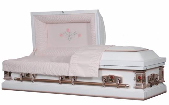 Carnation Ceremonial Casket