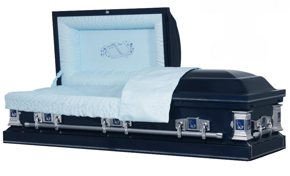 The Lord's Prayer Ceremonial Casket