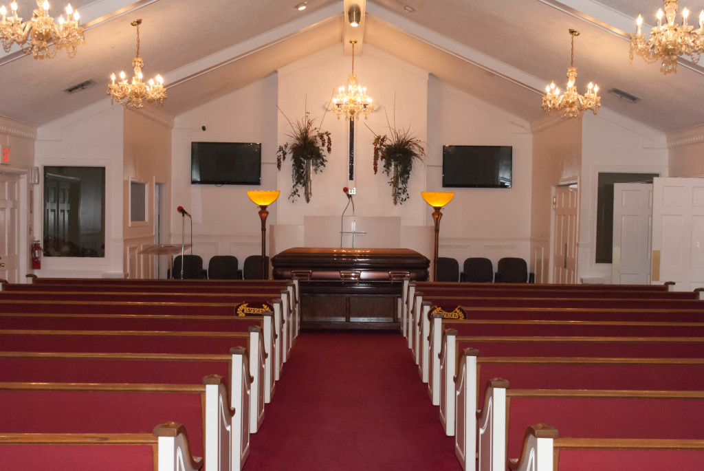 Spacious Chapel Seating