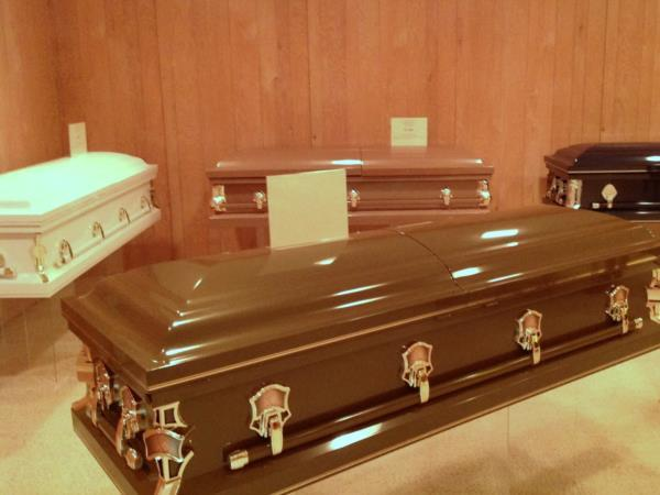 We offer a wide variety of affordable caskets, choice of colors and custom head panels at the most affordable cost in Marion.....guaranteed.