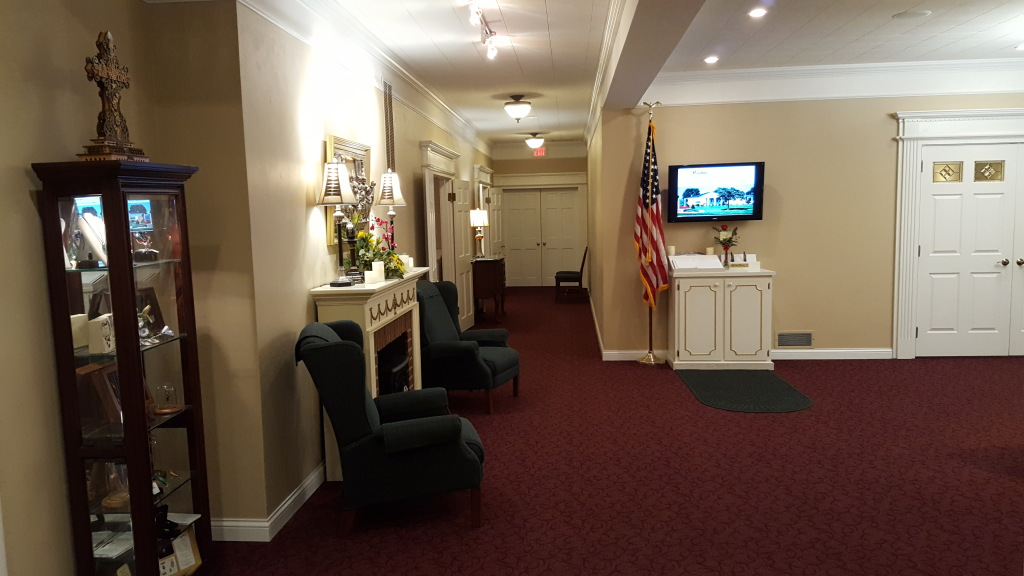 Our foyer from our main Michigan Street entrance.
