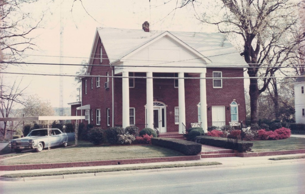 Old Albemarle Location in the 1960's