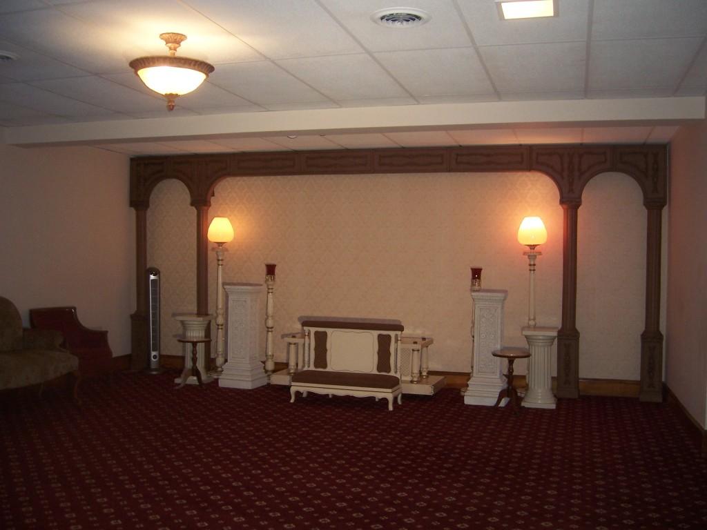 Main Service area