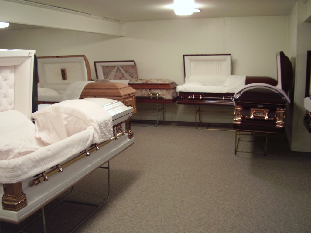 On-Site Casket Selection