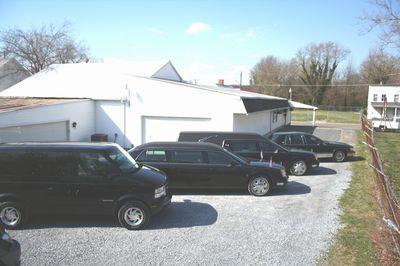 Fleet of Latest Model Funeral Vehicles