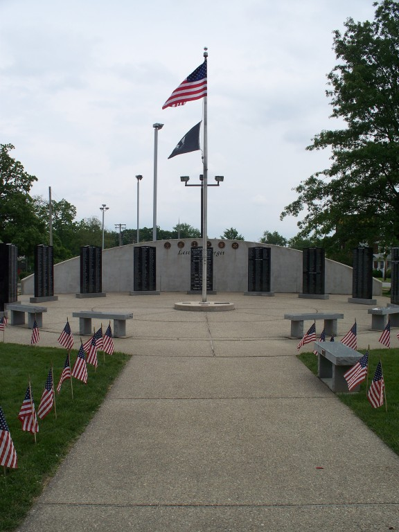 Veterans Memorial in Hillsboro, IL