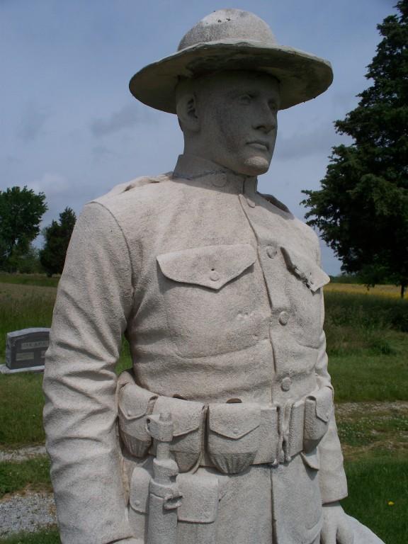 Sulfur Springs Cemetery, near Waggoner, IL