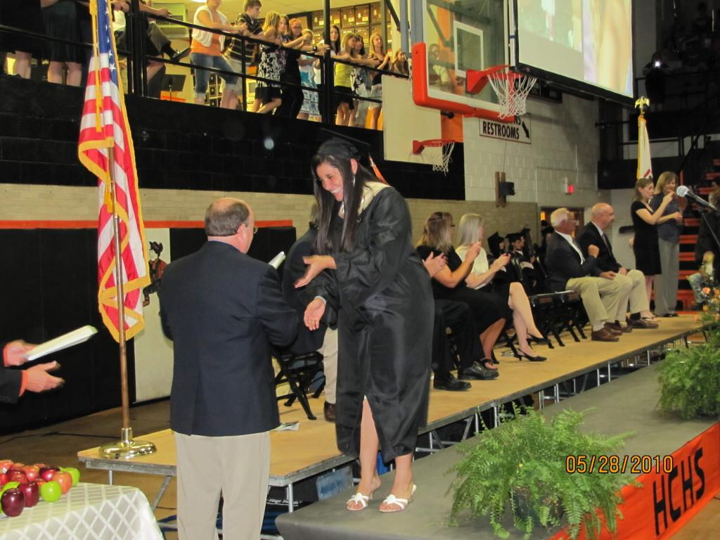 Hillsboro Community High School Graduation