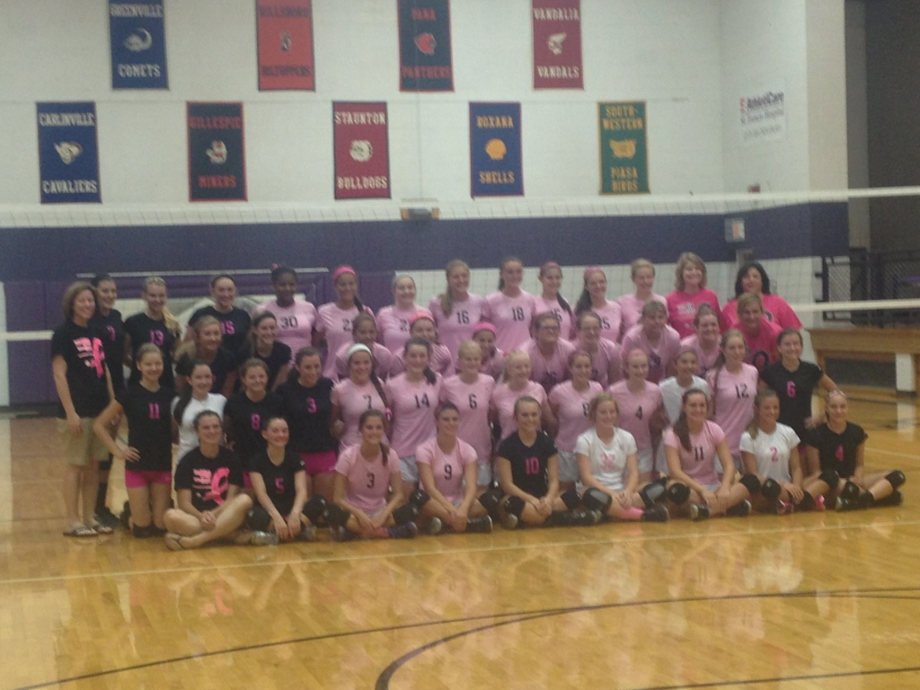 Litchfield Panthers hosting Lincolnwood Lancers, Dig for a Cure Volleyball Game