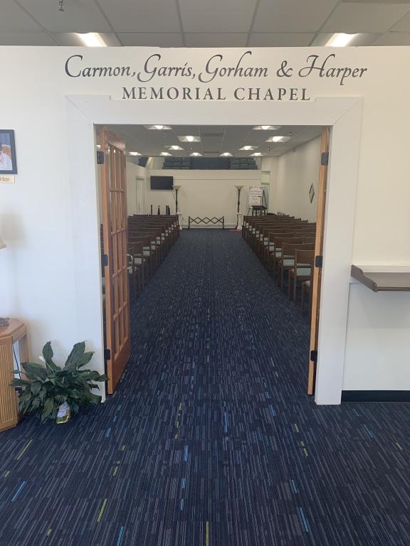 Carmon, Garris, Gorham & Harper Memorial Chapel