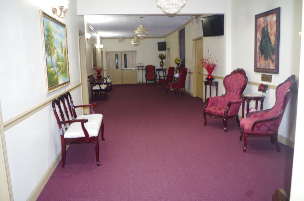 A look at our foyer leading to the chapel.