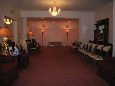 Layout Room / 2nd Chapel