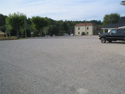 Parking Lot - Behind Funeral Home