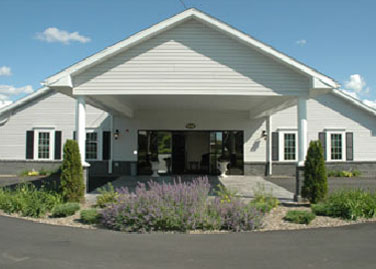 Front Exterior, Funeral Home