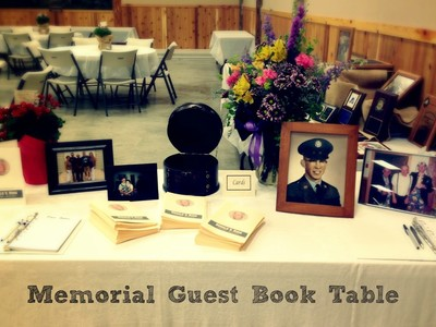 Veteran's Tribute Table