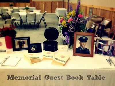 Veteran's Tribute Table