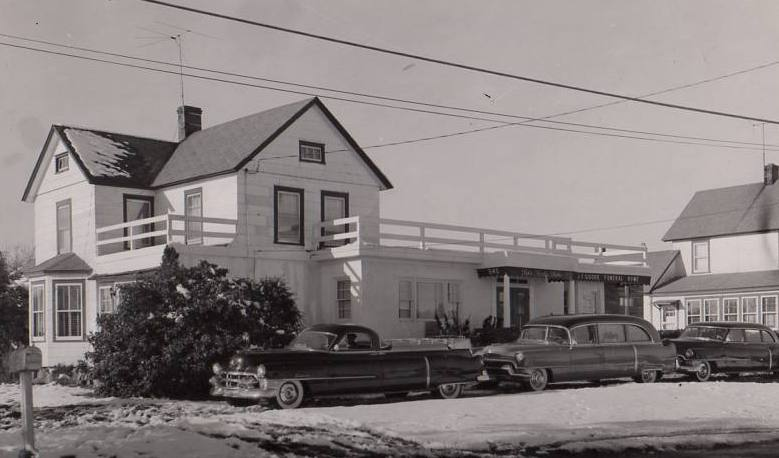 The Funeral Home in 1955