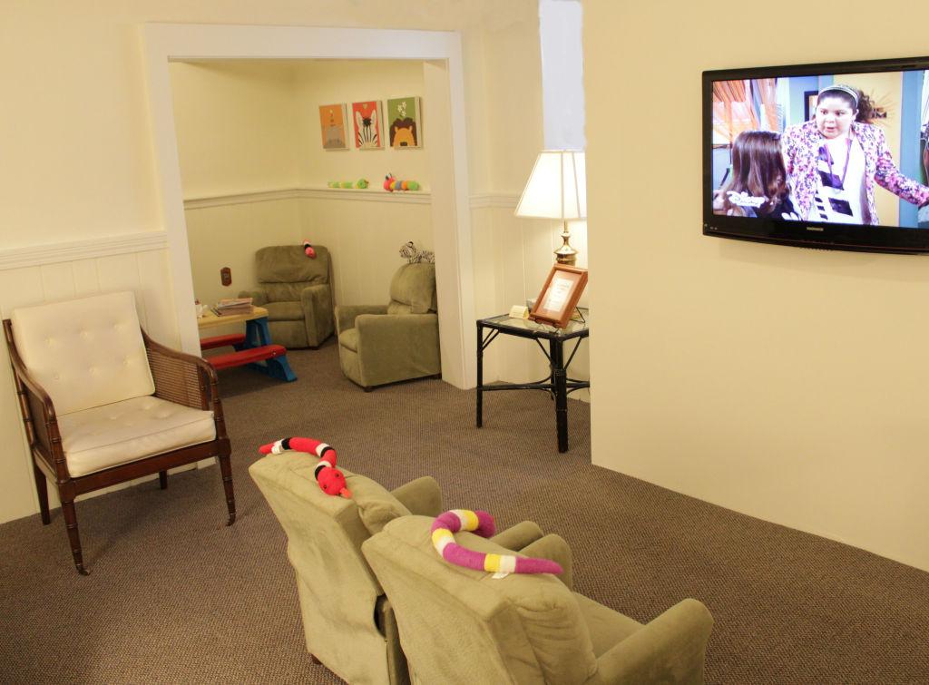 Children's TV area