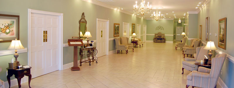 Johnson Funeral Home Parlor