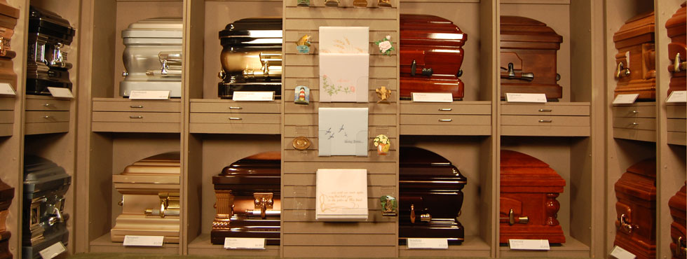Johnson Funeral Home Casket Options