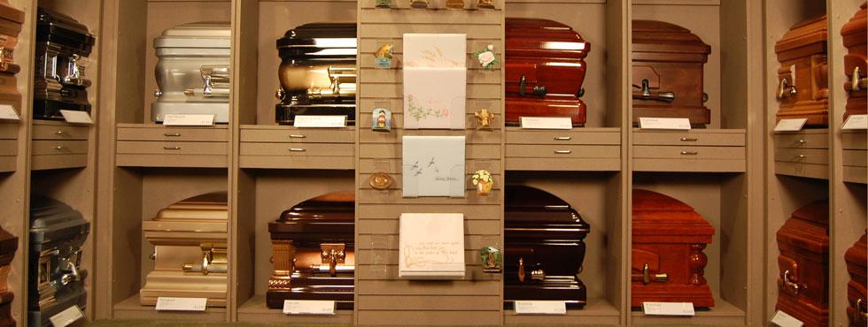 Johnson Funeral Home Casket Options