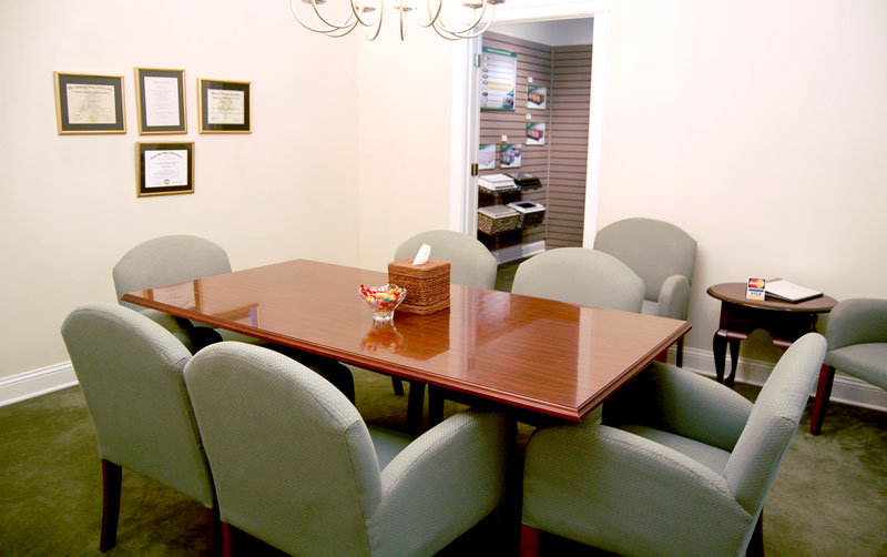 Johnson Funeral Home Conference Room