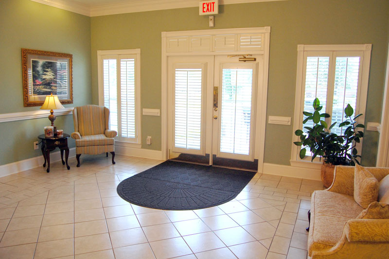 Johnson Funeral Home Entry Way