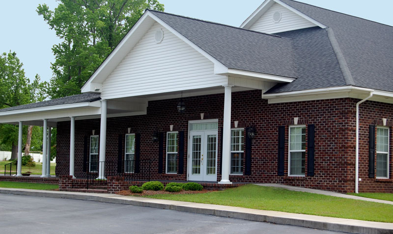 Johnson Funeral Home Exterior