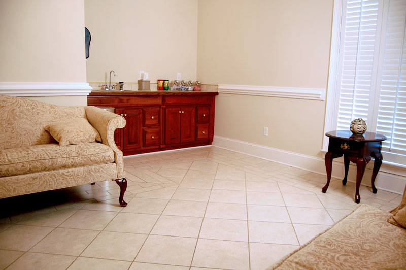 Johnson Funeral Home Reception Room
