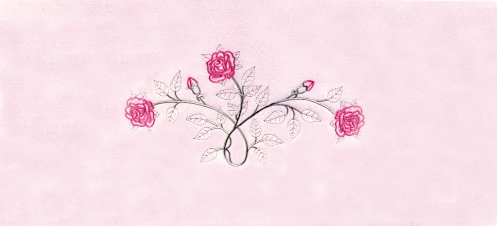 Vine Roses Pink