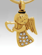 Gold Angel - CS517 / $75.00 + Tax - Includes Chain