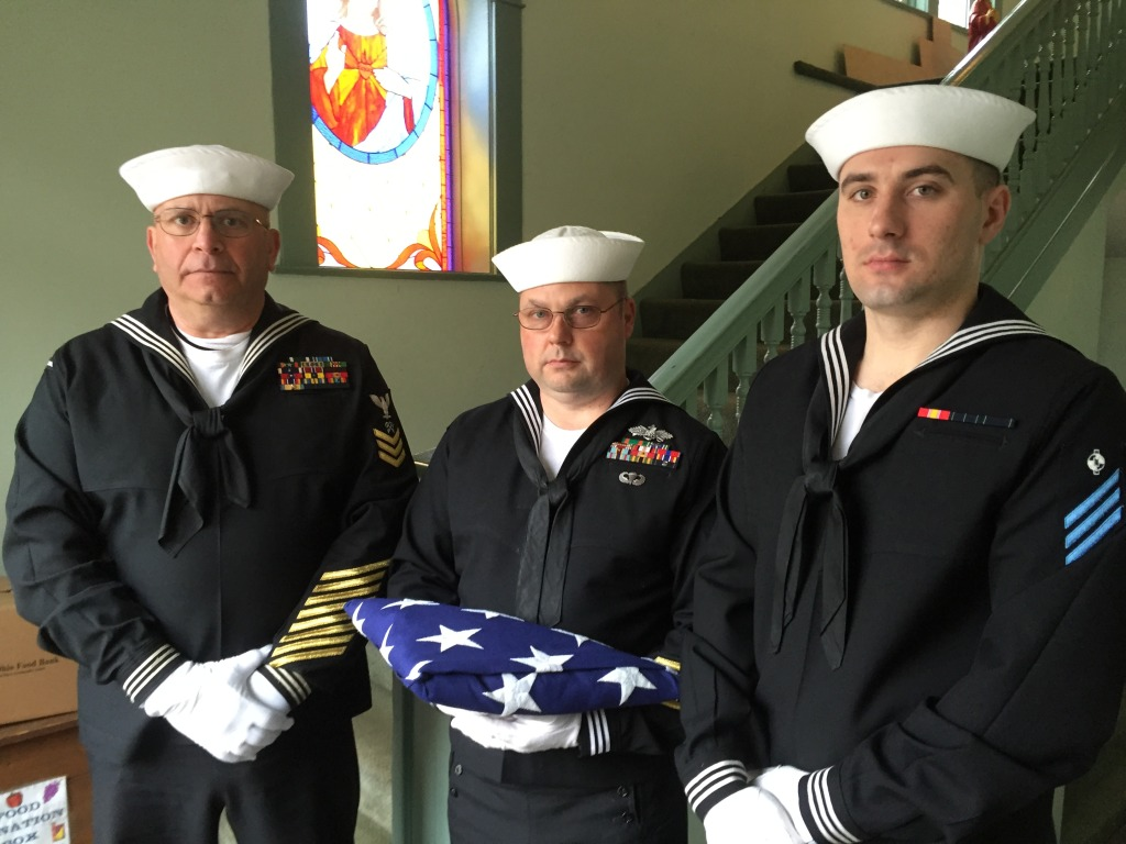 US Navy Honor Service at St. Peter  St. Paul Church, Wellston