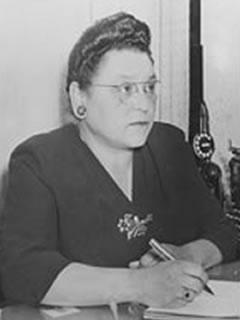 Katherine Weston Holley<br>1ra Generacin de servicio