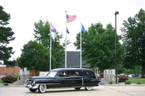 1951 Cadillac Hearse