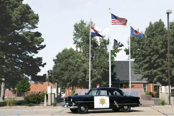 1953 Police Car
