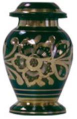 Emerald Green Brass Keepsake