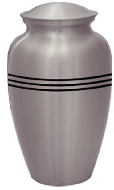 Classic Pewter with Stripes