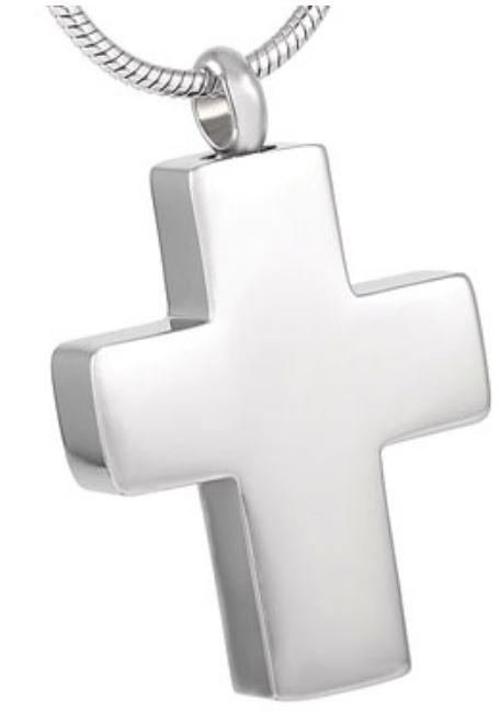 Stainless Steel Large Cross Pendant