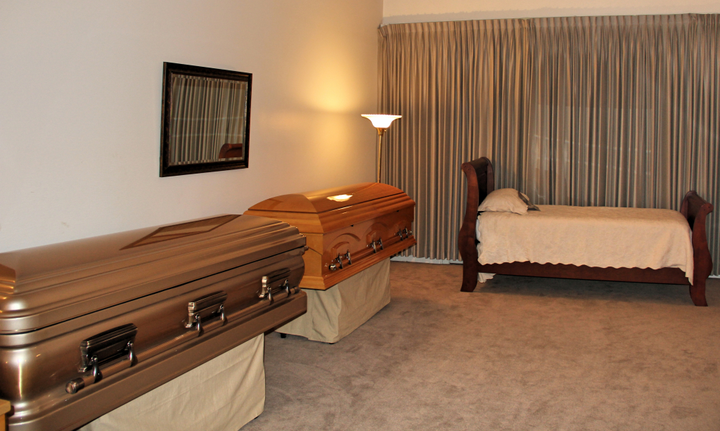 Cremation Reposing Bed