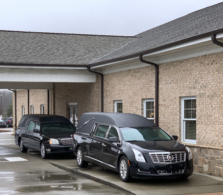 Two Dignified Funeral Coaches