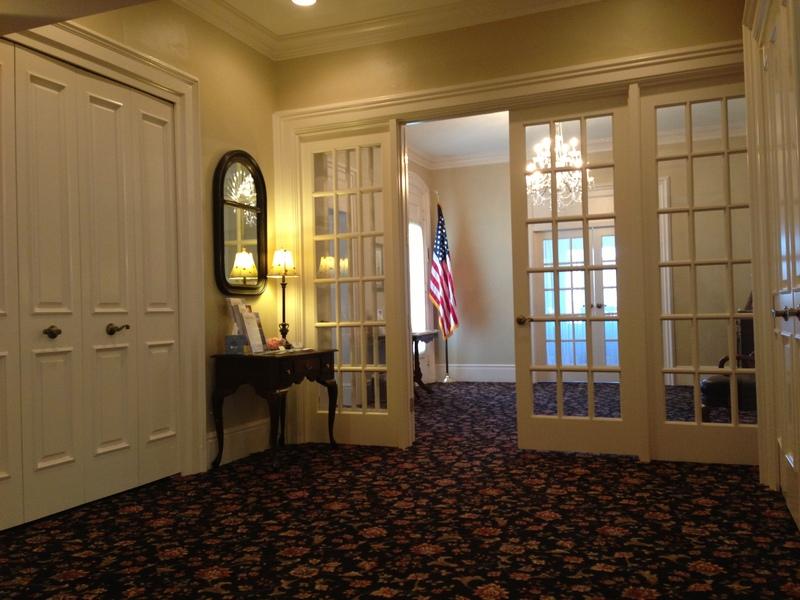 New Coat Room, July 2013