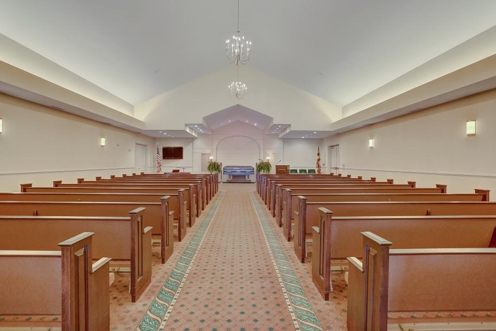 240 seat non-denomination Chapel