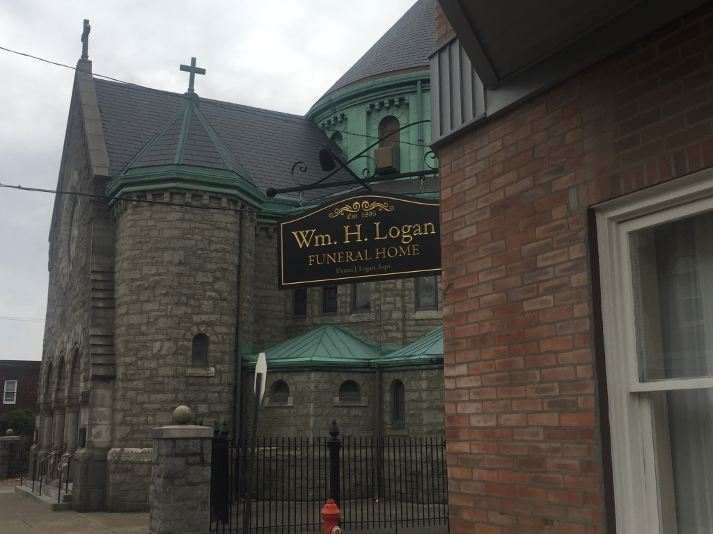 Logan Funeral Home, Philadelphia, Location