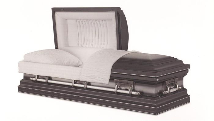 Metal casket