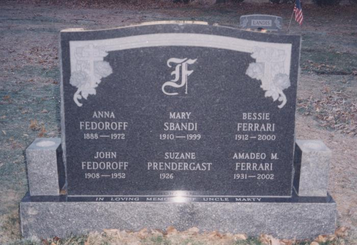 Traditional Family Monument