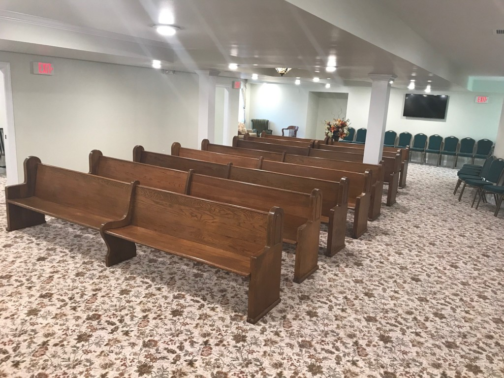 August 2018 interior renovation