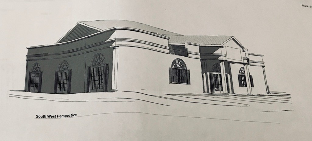Concept of 2018 exterior expansion renovation UNDERWAY
